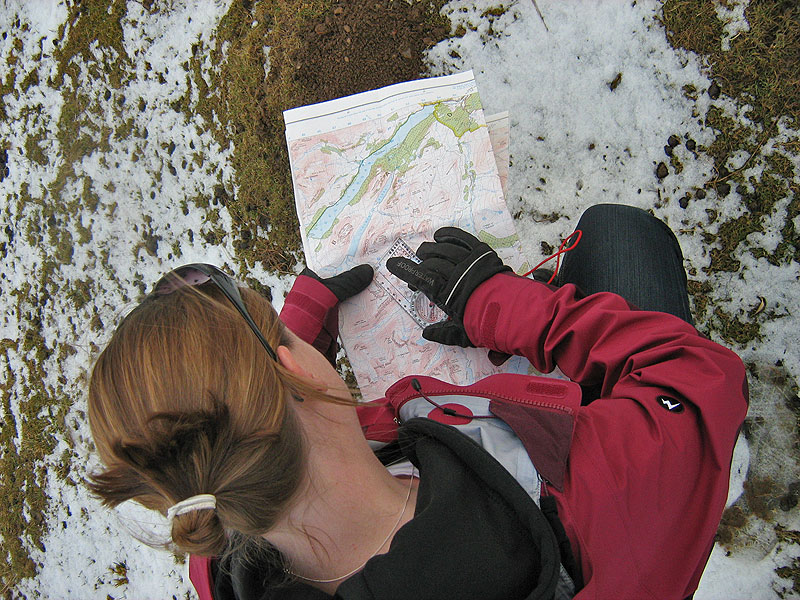 Map Reading and Compass Skills on the Lakeland Fells