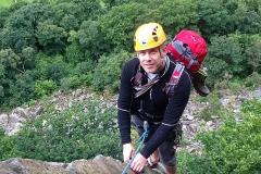 Borrowdale Vally Rock Climbing