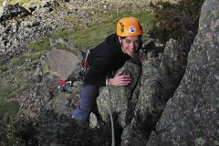 First Day Rock Climbing Outdoors