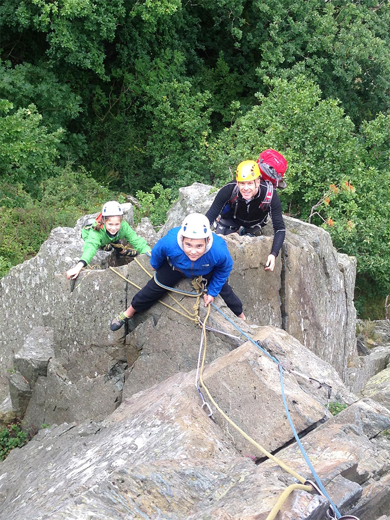 Rock Climbing Lessons in the Lake District: Learn to Climb ...